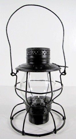 15: C&EI Clear Railroad Lantern