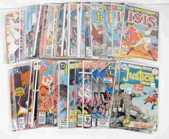52 Assorted DC Comics, 25 Cents to $1.00