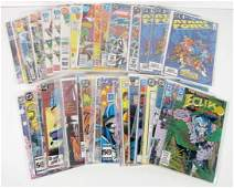 305B: 43 Assorted DC Comics, 25 Cents to $1.50