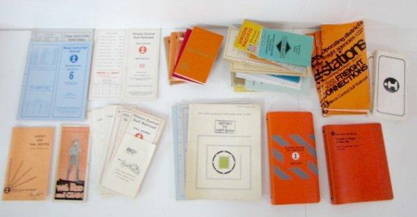 12A: Illinois Central Gulf Railroad Paper Memorabilia