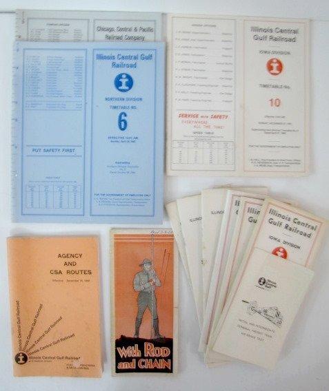 12A: Illinois Central Gulf Railroad Paper Memorabilia - 2
