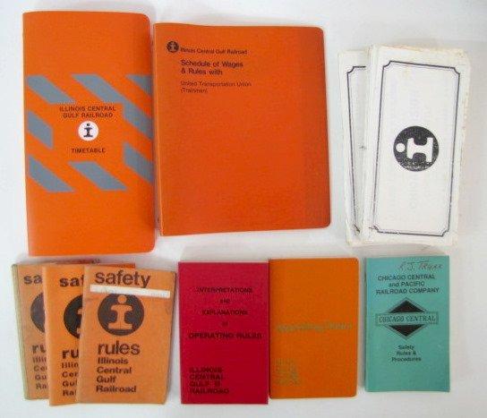 12A: Illinois Central Gulf Railroad Paper Memorabilia - 3