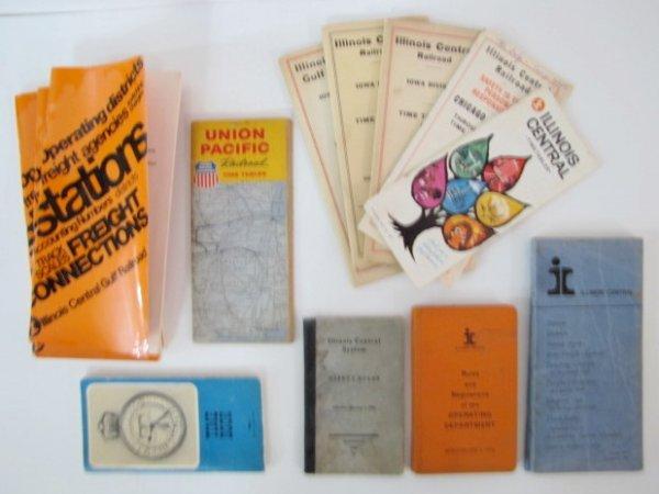 12A: Illinois Central Gulf Railroad Paper Memorabilia - 4