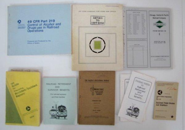 12A: Illinois Central Gulf Railroad Paper Memorabilia - 5