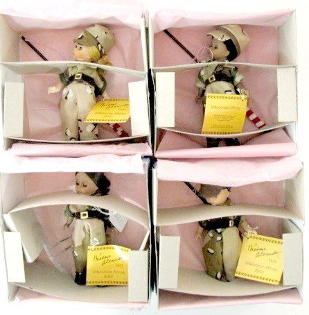2: 4 Madame Alexander 1991 Welcome Home Dolls