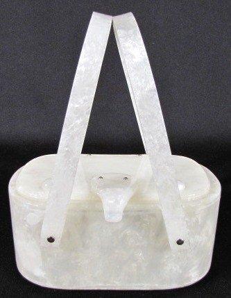 2A: Llewellyn Inc. N.Y. Lucite Handbag