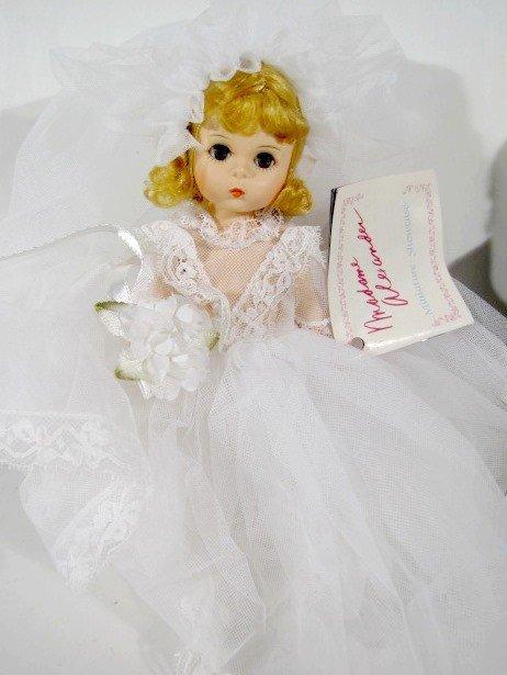 4: 2 Pairs Madame Alexander Bride & Groom Dolls - 2