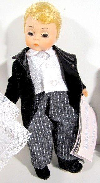 4: 2 Pairs Madame Alexander Bride & Groom Dolls - 3