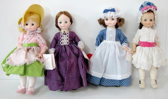 12: 4 Madame Alexander Dolls: Florence Nightingale, +