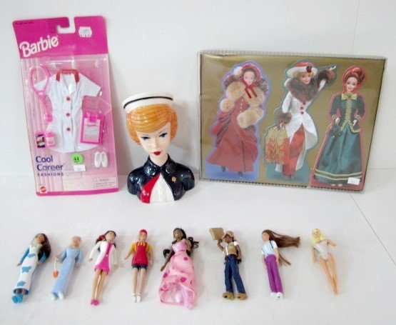 44: 11 Barbie Doll Collectibles: McDonald's Barbies....