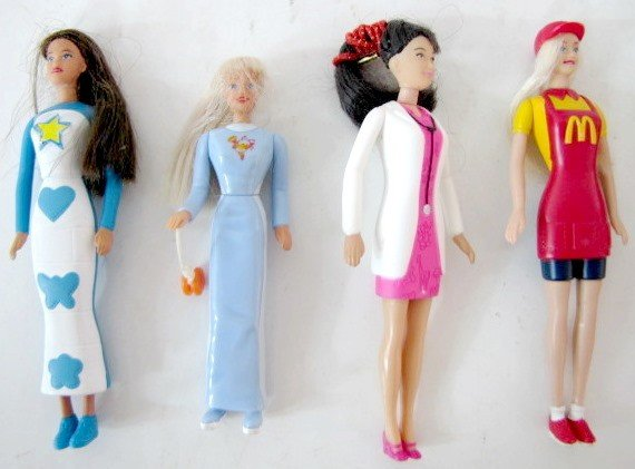 44: 11 Barbie Doll Collectibles: McDonald's Barbies.... - 5