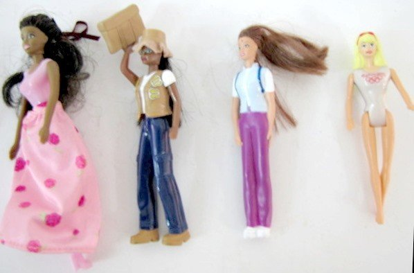 44: 11 Barbie Doll Collectibles: McDonald's Barbies.... - 6