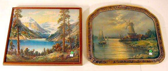 282: 2 Wm. Thompson Prints: Lake Louise & Moonlight
