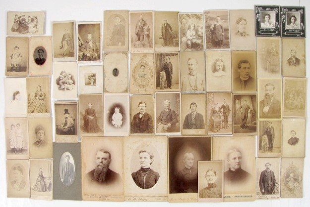 6: Group of 48 Vintage Photos Various Subjects & Sizes