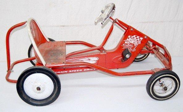 261: Murray Super Tot Rod Pedal Car