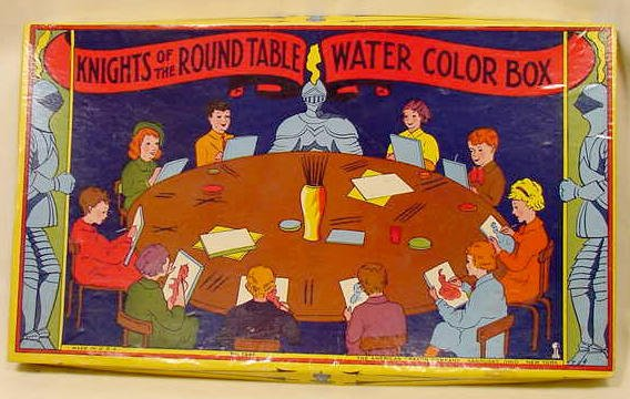 4: Knights of the Round Table Watercolor Box NR
