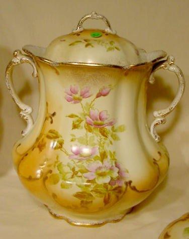 366: 7 pc W.M. Co. Semi Porcelain Wash Set NR - 3