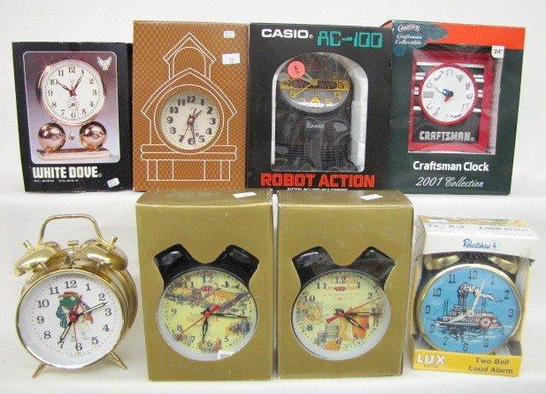 5: 8 Collectible Alarm Clock: Robot Action & More