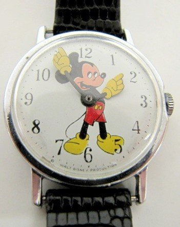 8B: W.D. Productions Mickey Mouse Wrist Watch