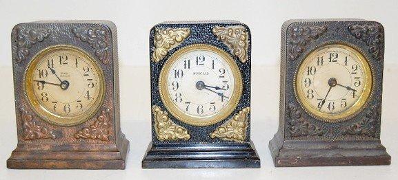 12: Group of 3 Ironclad Alarm Clocks