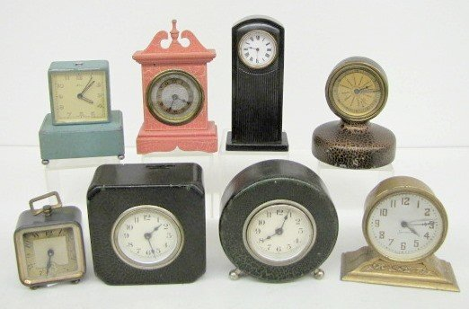 16: 8 Small Dresser Clocks: Lux, Sessions & More