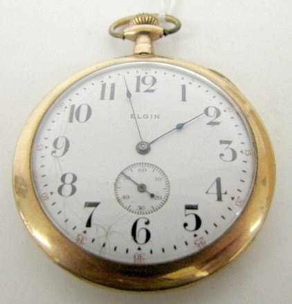 18B: Elgin 12S Thin Pocket Watch