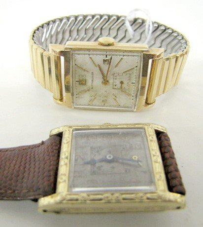 38B: Wittnauer & Swiss Men's Wrist Watches