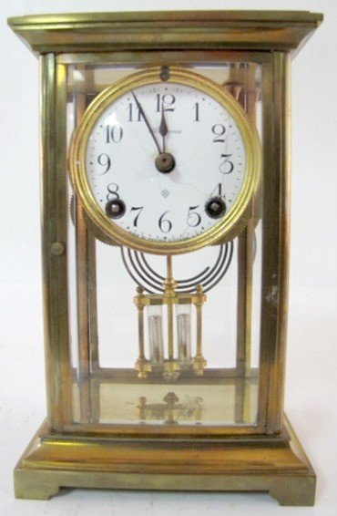 13: Ansonia 30 Hour Crystal Regulator Clock