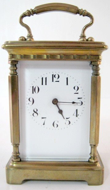 15: 8 Day French Carriage Clock