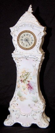 16: Mini Floral China Grandfather Clock