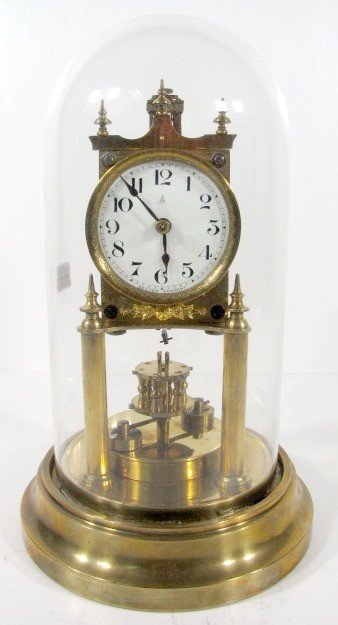 18: Gustav Becker 400 Day Anniversary Clock