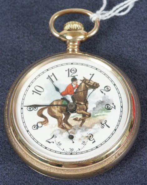 501: Waltham 17J 18's OF PS Pocket Watch NR
