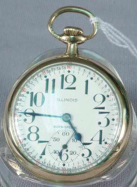 503: Illinois 21J BUNN Special Pocket Watch NR