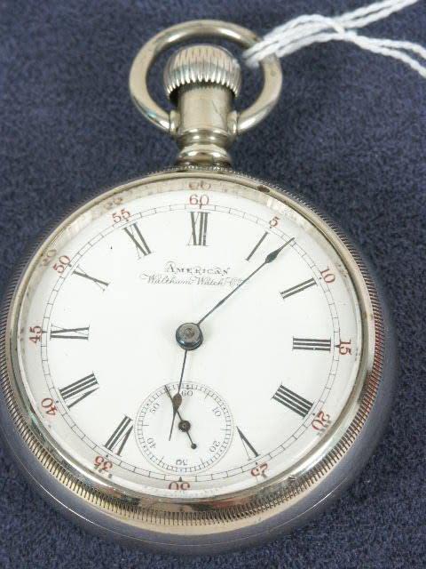 506: Waltham 15J 18's OF PS Pocket Watch NR