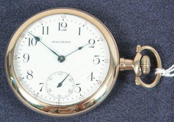 509: Waltham 17J Royal Grade Pocket Watch NR