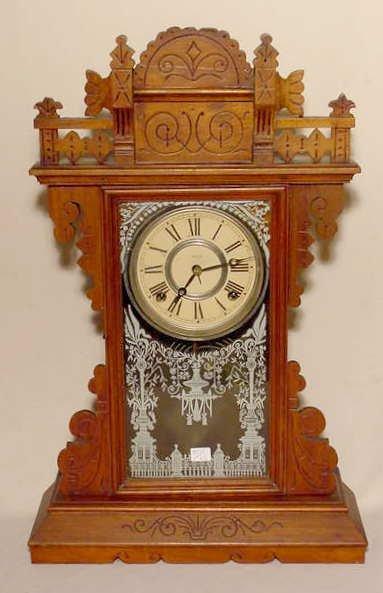 509A: Welch Parlor Clock in Walnut NR