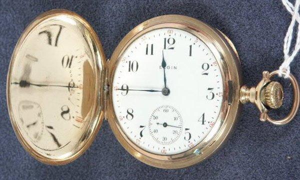 512: Elgin 17J 16's HC PS 1914 Pocket Watch