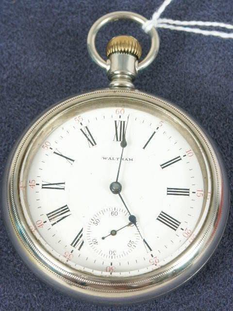 514: Waltham 17J 18's Appleton Tracy Pocket Watch NR