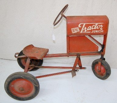 Junior Pedal Tractors Antique : B bmc tractor junior toy pedal