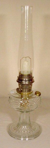 11: B-39 Clear Crystal Washington Drape Aladdin Lamp