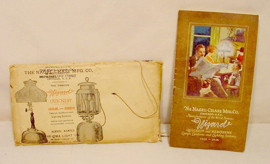 20: 1925-26 Lamp Lantern Lighting System Catalog NR