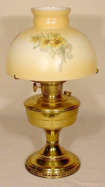22: Model 12 Bronze Finish Aladdin Lamp NR
