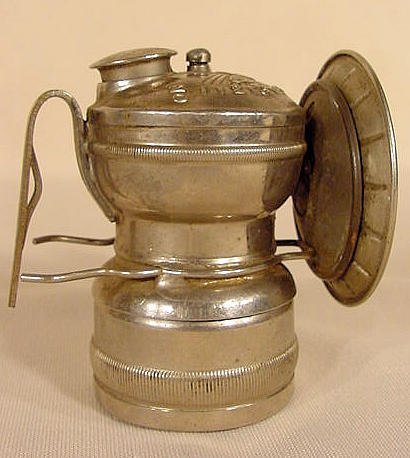 253: 1918 Sun Ray Carbide Lamp Dewar Mfg Co NR