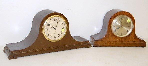 7: 2 Mantle Clocks: Plymouth & Seth Thomas