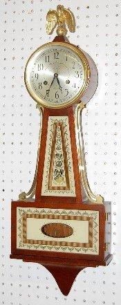 20: Seth Thomas T&S Antique Banjo Clock