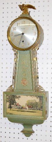"24: Waterbury T.O. ""Banjo No. 2"" Clock"