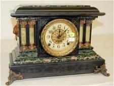 97: Seth Thomas Adamantine Column Mantle Clock