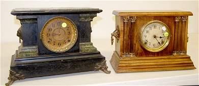 398: Seth Thomas & Sessions Mantle Clocks