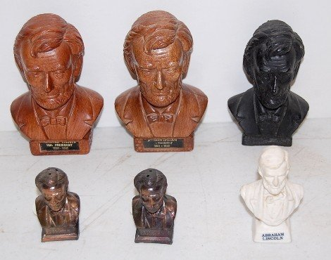 5: 6 Abraham Lincoln Figural Novelty Items