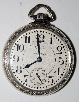 Waltham Lossier 23J 16S 14K Pocket Watch